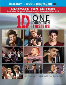 One Direction: This Is Us (Blu-ray + DVD + UltraViolet) Blu-ray