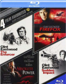 4 Film Favorites: Clint Eastwood Action Blu-ray