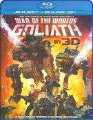 War Of The Worlds: Goliath (Blu-ray 3D) Blu-ray