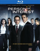 Person Of Interest: The Complete Third Season Blu-ray