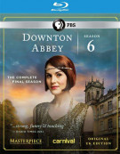 Downton Abbey: Season 6 Blu-ray