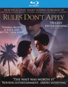 Rules Dont Apply (Blu-ray + DVD Combo + Digital HD) Blu-ray