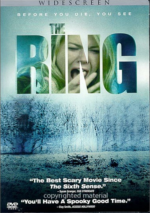 Ring, The (Widescreen) Movie