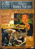 Joel McCrea Double Feature: Bird Of Paradise / The Most Dangerous Game Movie