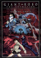 Giant Robo: The Day The Earth Stood Still - Volume 3 Movie