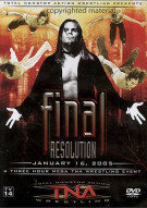 Total Nonstop Action Wrestling: Final Resolution 2005 Movie