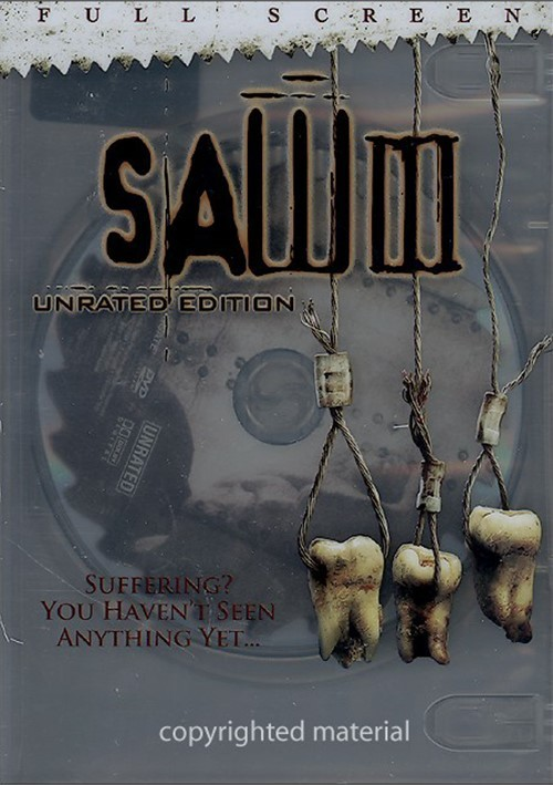 Saw III: Unrated (Fullscreen) Movie