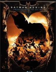 Batman Begins: Limited Edition Blu-Ray Gift Set Blu-ray