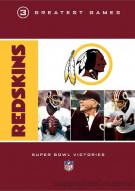 NFL Redskins 3 Greatest Games: Super Bowl Victories Movie