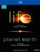 Life (Narrated By Oprah Winfrey) / Planet Earth: The Complete Collection (2 Pack) Blu-ray