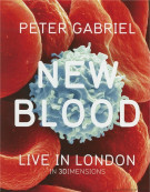 Peter Gabriel: New Blood - Live In London (Blu-ray 3D + Blu-ray + DVD) Blu-ray