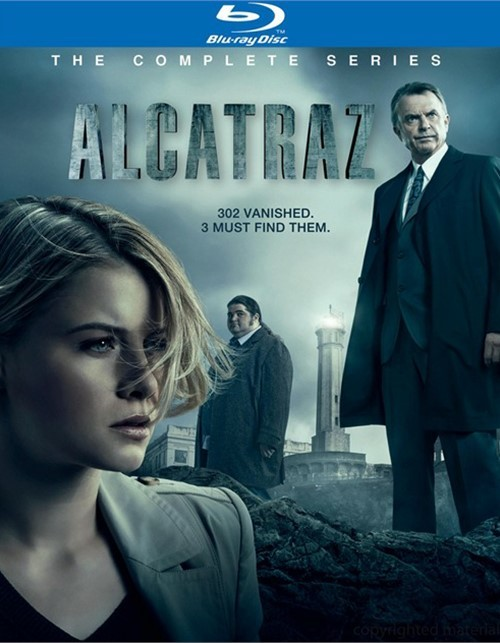 Alcatraz: The Complete Series Blu-ray