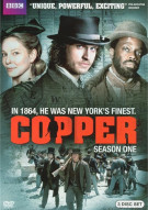 Copper: Season One (DVD + UltraViolet) Movie