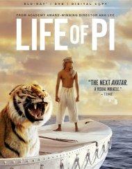 Life Of Pi (Blu-ray + DVD + Digital Copy + UltraViolet) Blu-ray