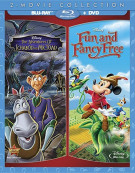 Adeventures Of Ichabod And Mr. Toad / Fun And Fancy Free: 2 Movie Collection (Blu-ray + DVD + Digital Copy)  Blu-ray