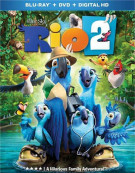 Rio 2 (Blu-ray + DVD + UltraViolet) Blu-ray