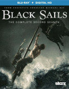 Black Sails: The Complete Second Season (Blu-ray + UltraViolet) Blu-ray