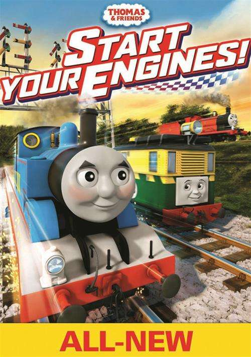 thomas friends start your engines dvd dvd empire. Black Bedroom Furniture Sets. Home Design Ideas
