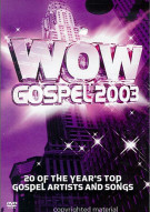 WOW Gospel 2003 Movie