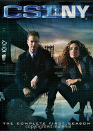 CSI: NY - The Complete Seasons 1 - 3 Movie