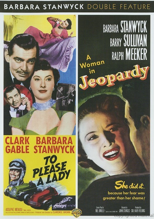To Please A Lady / Jeopardy (Double Feature) Movie