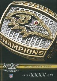 NFL Americas Game: Baltimore Ravens Super Bowl XXXV Movie