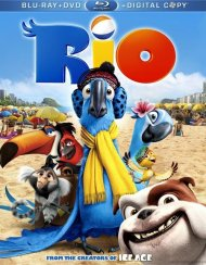 Rio (Blu-ray + DVD + Digital Copy) Blu-ray