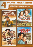 4 Movie Marathon: Classic Western Collection Movie