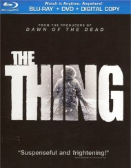 Thing, The (Blu-ray + DVD + Digital Copy + UltraViolet) Blu-ray