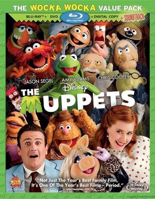 Muppets, The (Blu-ray + DVD+ Digital Copy + Soundtrack Download Card) Blu-ray
