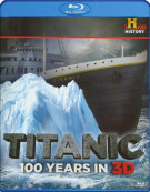 Titanic: 100 Years In 3D Blu-ray