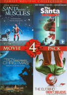 4 Film Family Holiday Movie Collection Movie