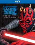 Star Wars: The Clone Wars - The Complete Season Four Blu-ray