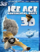 Ice Age: Continental Drift 3D (Blu-ray 3D + Blu-ray + DVD + Digital Copy) Blu-ray