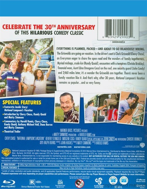 National Lampoon's Vacation: 30th Anniversary (Blu-ray