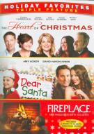 Heart Of Christmas / Dear Santa / Fireplace (Triple Feature) Movie