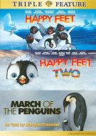 Happy Feet / Happy Feet 2 / March Of The Penguins (Triple Feature) Movie