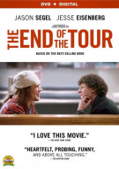 End Of The Tour, The (DVD + UltraViolet) Movie