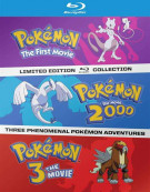 Pokemon: The First Three Movies Blu-ray