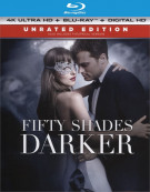 50 Shades Darker (4K Ultra HD + Blu-ray + UltraViolet) Blu-ray
