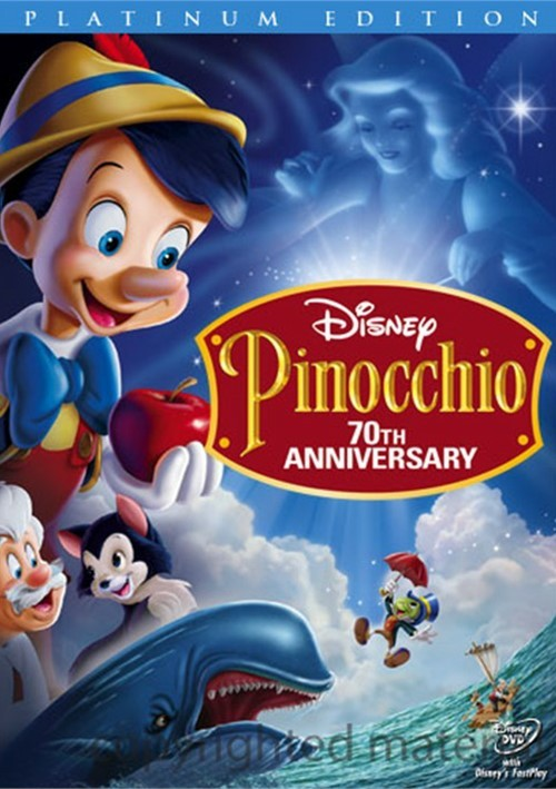 Pinocchio: 70th Anniversary - Platinum Edition Movie