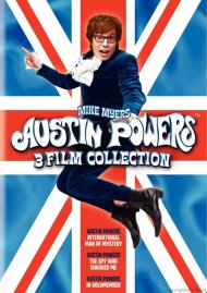 Austin Powers 3 Film Collection Movie