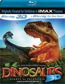 IMAX: Dinosaurs 3D - Giants Of Patagonia (Blu-ray 3D) Blu-ray