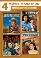 Albuquerque / Whispering Smith / The Duel At Silver Creek / War Arrow (4 Movie Marathon) Movie