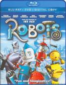 Robots (Blu-ray + DVD + Digital Copy) Blu-ray