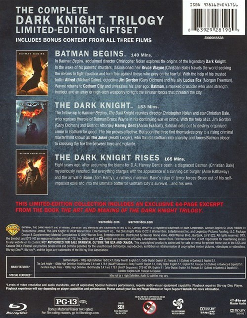 the dark knight trilogy heros journey The dark knight rises blu-ray video review again similar to marvel's phase one collection, the dark knight trilogy ultimate collection offers one new disc of bonus material.