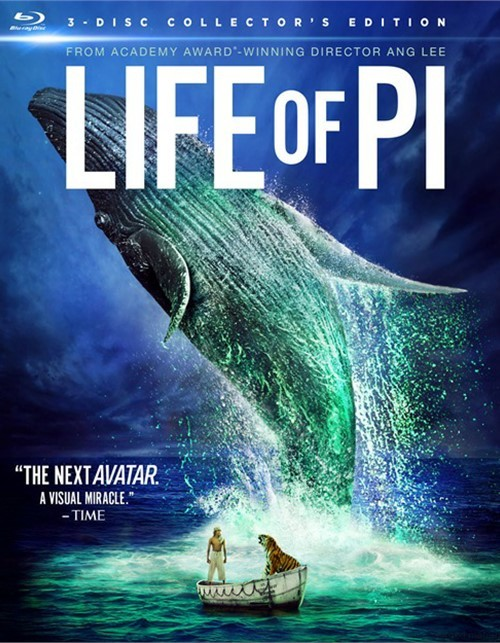 Life Of Pi 3D (Blu-ray 3D + Blu-ray + DVD + Digital Copy + UltraViolet) Blu-ray