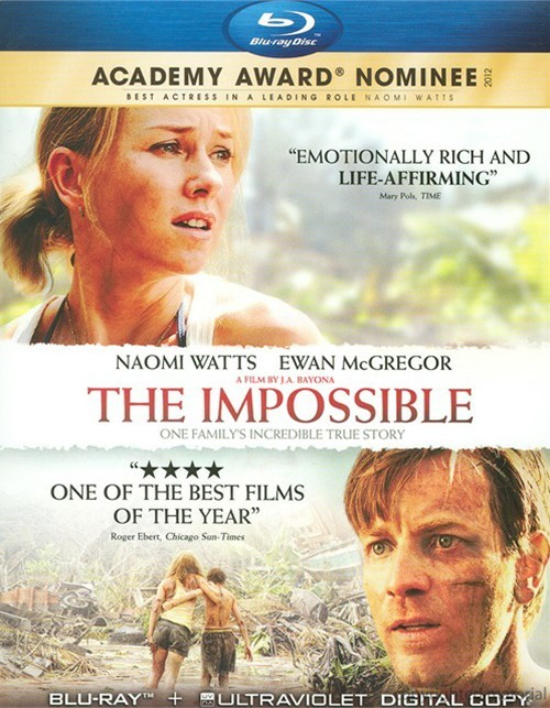 Impossible, The (Blu-ray + Digital Copy + UltraViolet) Blu-ray