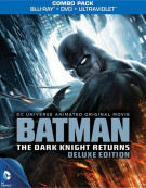 Batman: The Dark Knight Returns - Deluxe Edition (Blu-ray + DVD + UltraViolet) Blu-ray