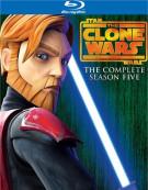 Star Wars: The Clone Wars - The Complete Season Five Blu-ray